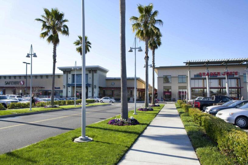 Alameda South Shore Center Fassade