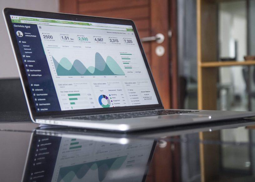 Blog digitalisierung laptop